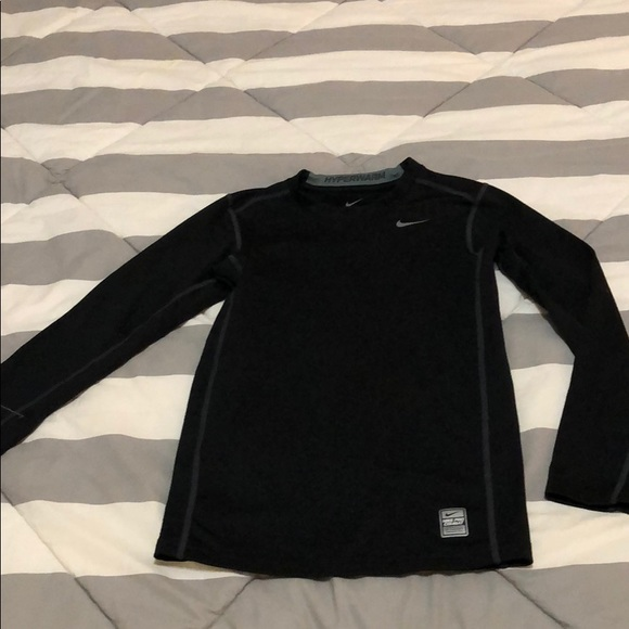 6ea2bf62 Nike Shirts & Tops | Boys Pro Combat Hyper Warm Shirt | Poshmark